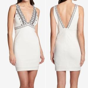 NWT Guess Embroidered Sheath Dress